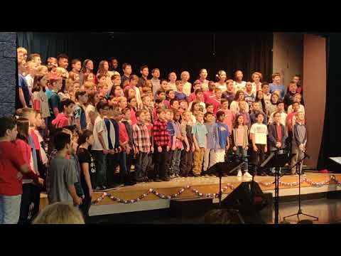 Glacier Park Elementary School celebrates Veterans Day with a special assembly