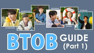 BTOB Introduction 2021 (Part1) a helpful guide of the group