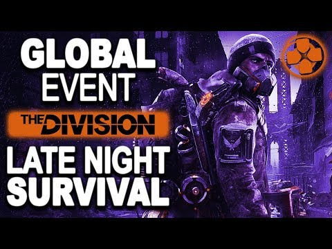The Division 🔴 Blackout Survival   Lazy Late Night Gaming   PC Gameplay