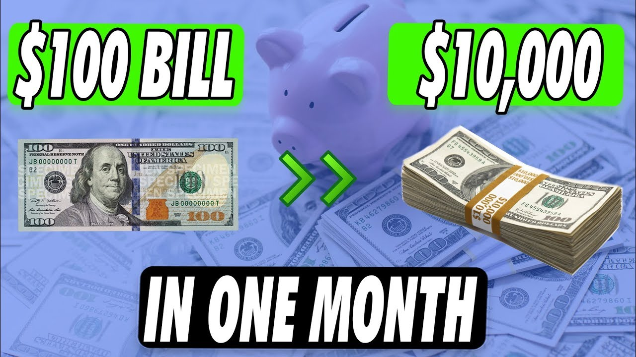 100 Dollars A Month >> How To Invest 100 Dollars The Best 3 Ways 2019