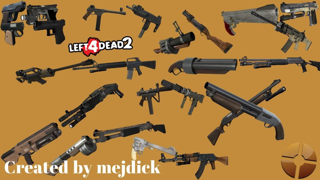 L4D2 Workshop Showcase: TF2 Weapon Sound Part 1