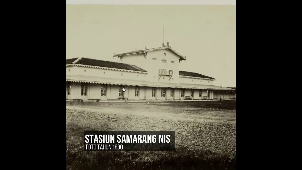 Susur Rel Trem Uap SJS Kota Semarang part 3: Djoernatan-Stasiun Samarang NIS dibuka 12 Maret 1883