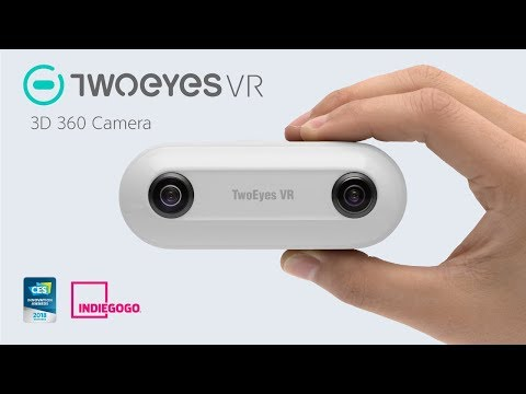 TwoEyes VR - World's First 3D 360 VR Camera