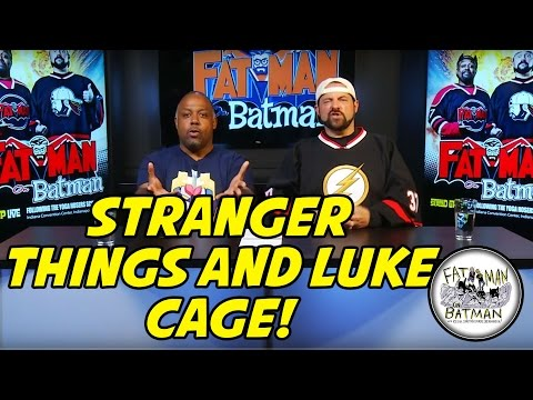 STRANGER THINGS AND LUKE CAGE! - FAT MAN ON BATMAN 064