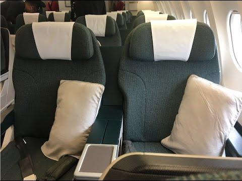 Cathay Dragon Business Class A330 Hong Kong to Shanghai Hong Qiao