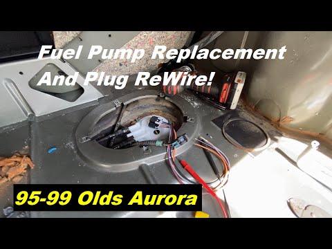 Oldsmobile Aurora Fuel Pump Replacement 95 96 97 98 99 1995 1996 1997 1999 1999