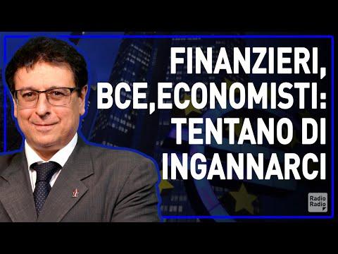FINANZA, ECONOMISTI, BCE: ECCO COME CI STANNO INGANNANDO - Valerio Malvezzi