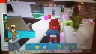 Playing for the first time on the Roblox channel-Julia W B Games