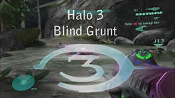Halo 3 Easter Egg - Blind Grunt