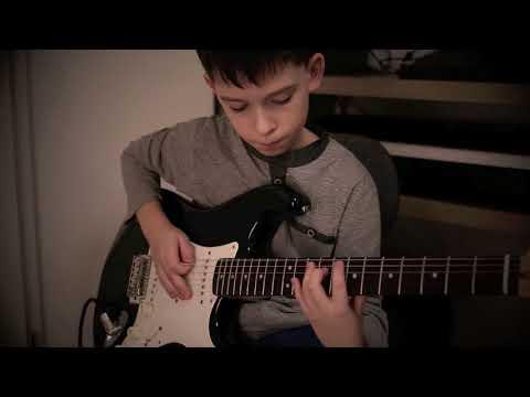 """Kuba Gołofit - """"Iron Man"""" - Black Sabbath - guitar cover - MUSIC WAY"""