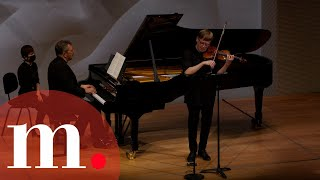 Thomas Adès and Pekka Kuusisto perform Ravel's Sonata for Violin and Piano No 2 in G Major
