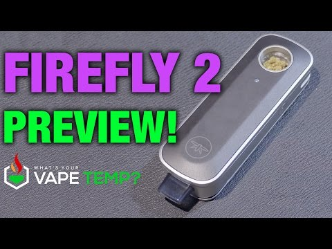 FireFly 2 Vaporizer Preview at Champs 2016 in Las Vegas