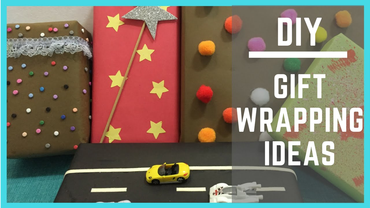 Inexpensive And Simple Gift Wrapping Ideas For Kids Presents Youtube