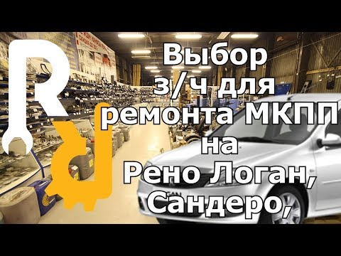 Разборка МКПП Рено JB3