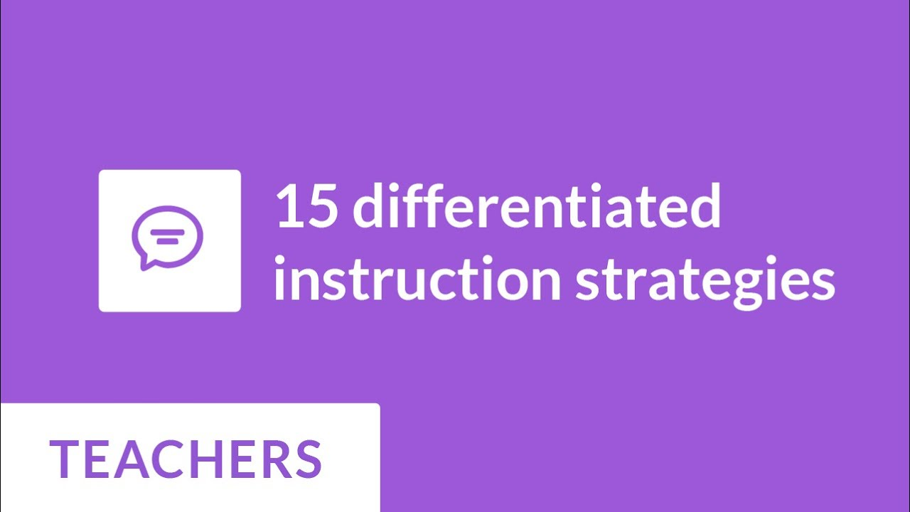 15 Differentiated Instruction Strategies Prodigy Game Youtube