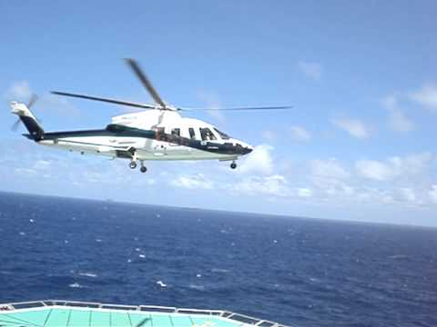 Helicopter taking off Offshore Brazil P53.MPG