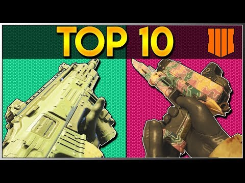 TOP 10 BEST GUNS IN BLACK OPS 4 ZOMBIES - Call of Duty BO4 Zombies