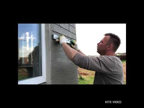 видео: Недорогой фасад своими руками
