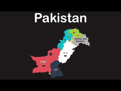 Pakistan Geography/Pakistan Administrative Units