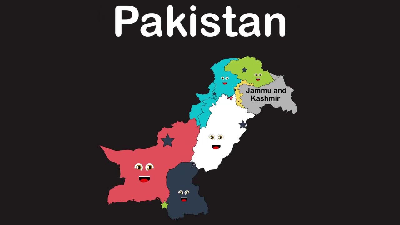 Pakistan Geography Pakistan Administrative Units Kids Learning Tube