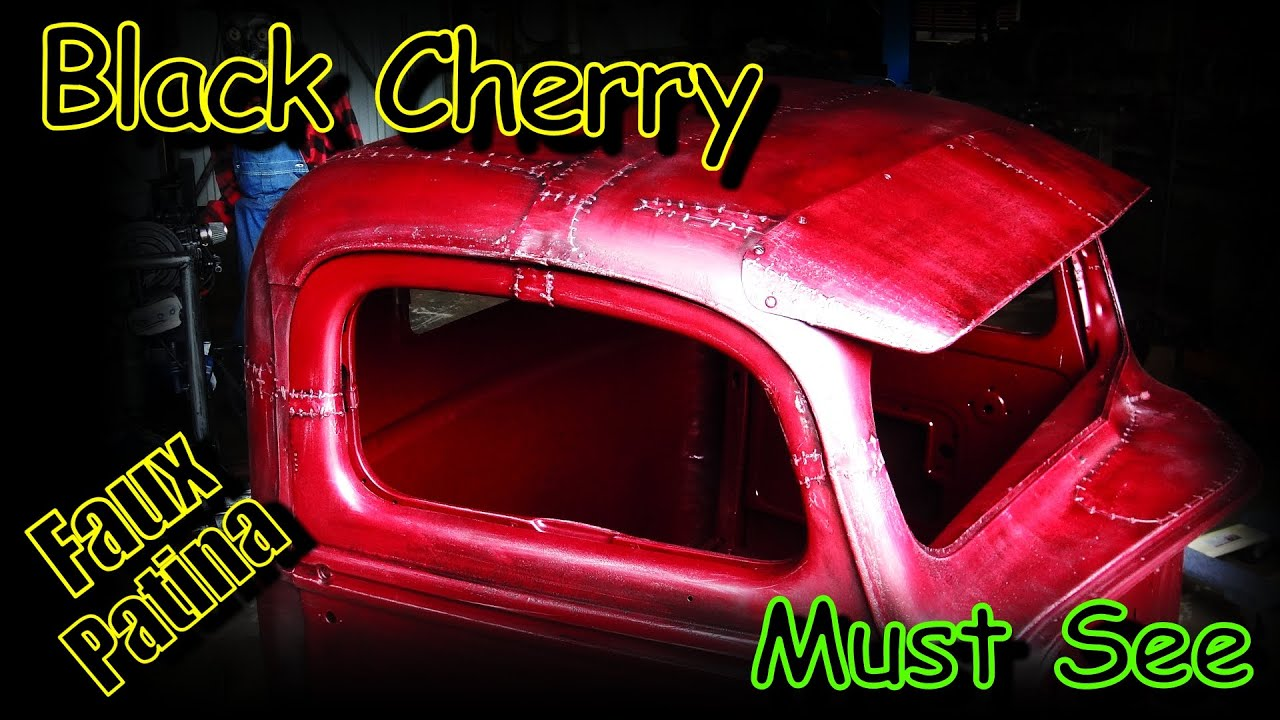 Crazy Old Look With New Paint The Easy Way - Rat Rod Truck Build