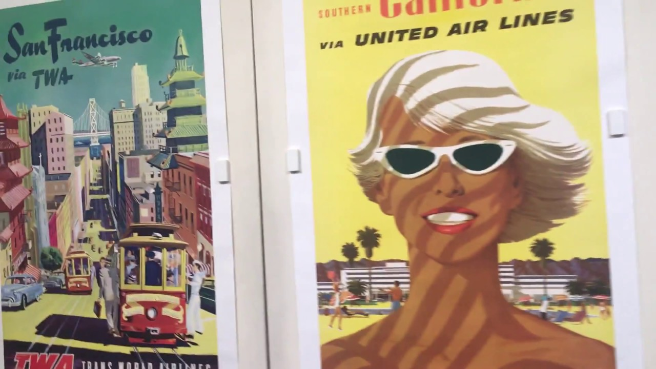 Original Vintage Posters At The Ross Art Group Winter Edition