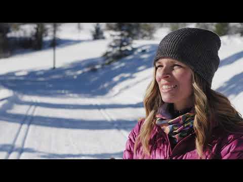 Cross-Country Skiing In Kamloops, BC