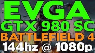 battlefield 4 campaign 100 fps ultra 1080p 144hz monitor evga sc gtx 980