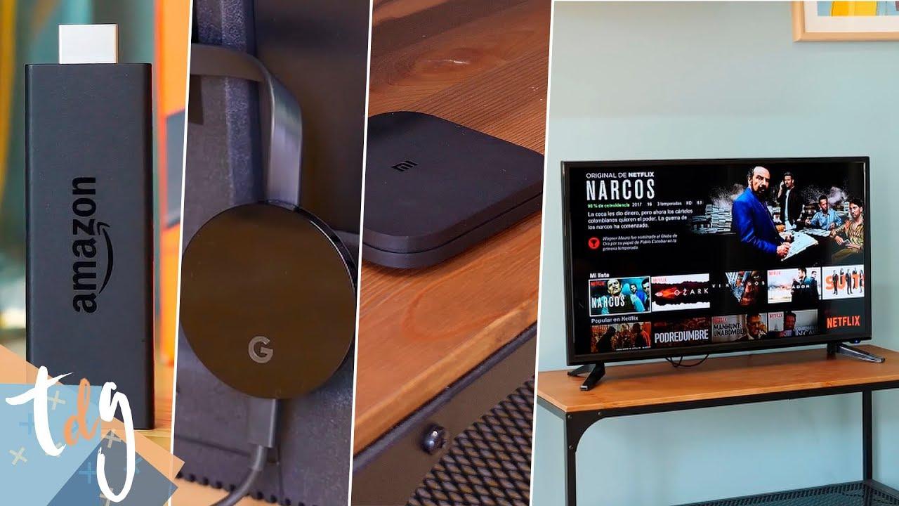 Como Convertir Tu Televisor A Smart Tv Td Systems Con Chromecast Amazon Fire Tv Box Tv Youtube
