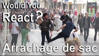 Experience sociale #6: ARRACHAGE DE SAC Video