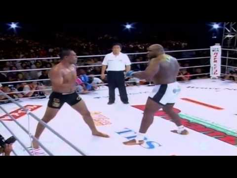 Antonio Rodrigo Nogueira vs  Bob Sapp fight highlights at Pride FC event in 2002!