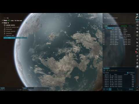 EVE Online - Planet Colony set up - SIMPLE VERSION