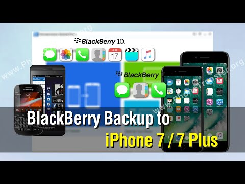 Easy Way to Transfer Data from BlackBerry into iPhone