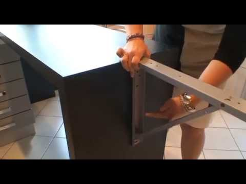 support de table rabattable youtube. Black Bedroom Furniture Sets. Home Design Ideas