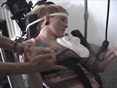 Kali suffered traumatic brain injury from a car accident and Quadriciser helps.