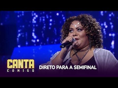 Prih Queiroz canta Sozinho e garante vaga na semifinal com 95 pontos