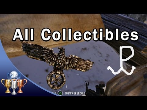 Enemy Front - All Secrets & Polish Resistance Symbols Collectibles locations