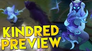 LoL Kindred Gameplay Ability Preview Champion Spotlight - League of Legends