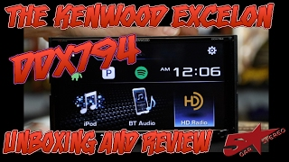 The unboxing and review of the Kenwood Excelon DDX794