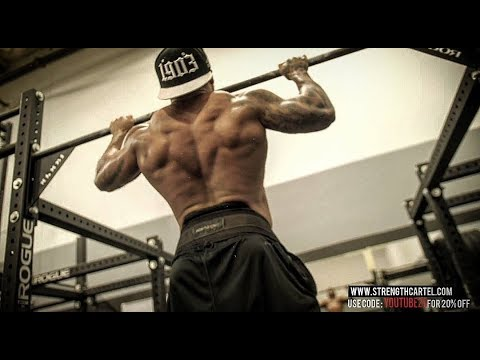 WEIGHTED PULL UPS | HOW TO BUILD THAT PRISON BACK AND GET THAT CRAZY V TAPER - BIG BOY