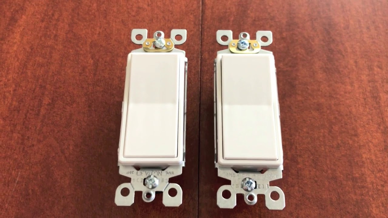 differences between 3 way light switch \u0026 single pole light switchdifferences between 3 way light switch \u0026 single pole light switch!
