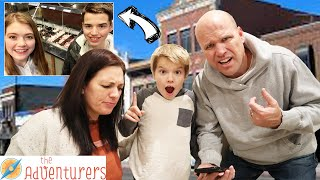 Extreme Hide And Seek In Our Entire City! I That Youtub3 Family The Adventurers