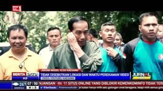 Jokowi Jadi Model Vlog Kaesang Pangarep