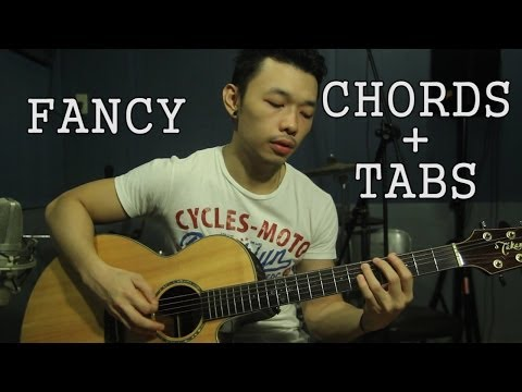 Fancy EASY Guitar Tutorial ♦ Madilyn Bailey ♦ Iggy Azalea