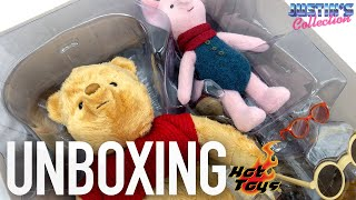 Hot Toys Winnie the Pooh and Piglet Christopher Robin Unboxing