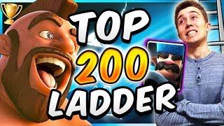 TOP TROPHY PUSHING w/ BEST HOG RIDER 3 MUSKETEER DECK! — Clash Royale