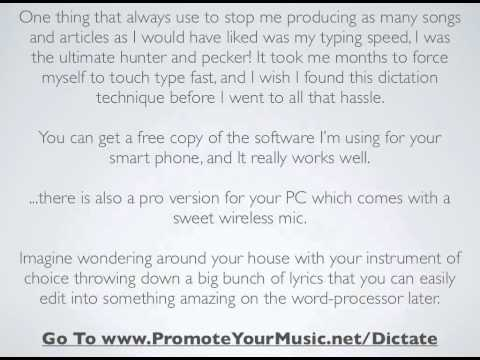 Need Help Writing Lyrics Fast? WATCH THIS!