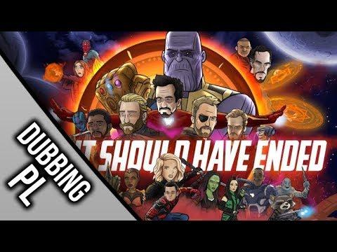 Jak Avengers: Wojna Bez Granic powinno się skończyć | DUBBING PL