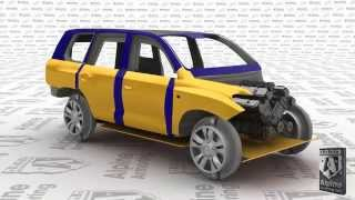 3-D Armored SUV Vehicle Alpine Armoring