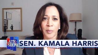 Sen. Kamala Harris: Trump's Executive Order Is Window Dressing, Senate Gop's Bill Has No Teeth